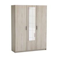 Skriňa 3-dverová PRICY dub