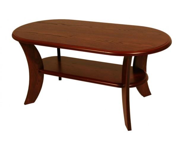 Konferenčný stôl oválny K52 Roman hnedý