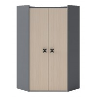 IKS X-02 šatní skříň rohová