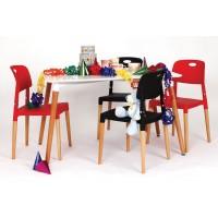 Jedálenské bukové stoly a stoličky SET z masívu 120x80x75cm