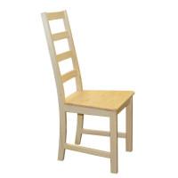 Stolička celodrevená MINA
