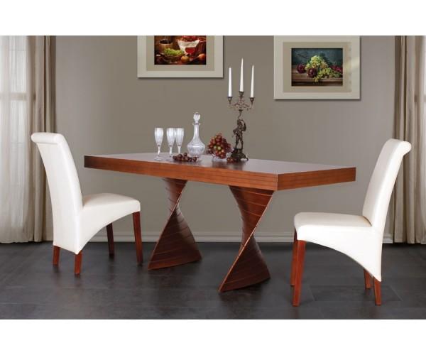 Jedálenský stôl FREDO 160x90 + 60cm