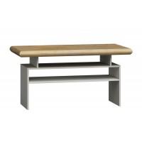 Konferenční stolek KORA K13 divoký dub/bílá