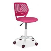 Kancelářská židle MAX růžová