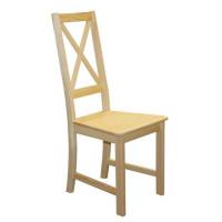 Stolička celodrevená TINA
