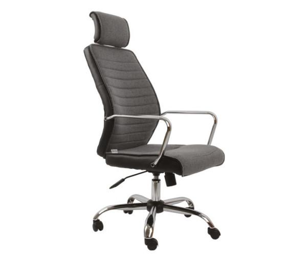 Kancelárska stolička šedá