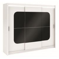 Šatní skříň BARCELONA 250 bílá