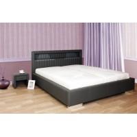 Čalúnená posteľ s LED podsvietením JULIANA L091 180x200cm