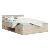 Multifunkčná posteľ 160x200 MICHIGAN dub