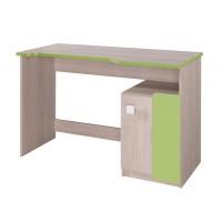 DUO D6 pracovní stůl santana/zelená